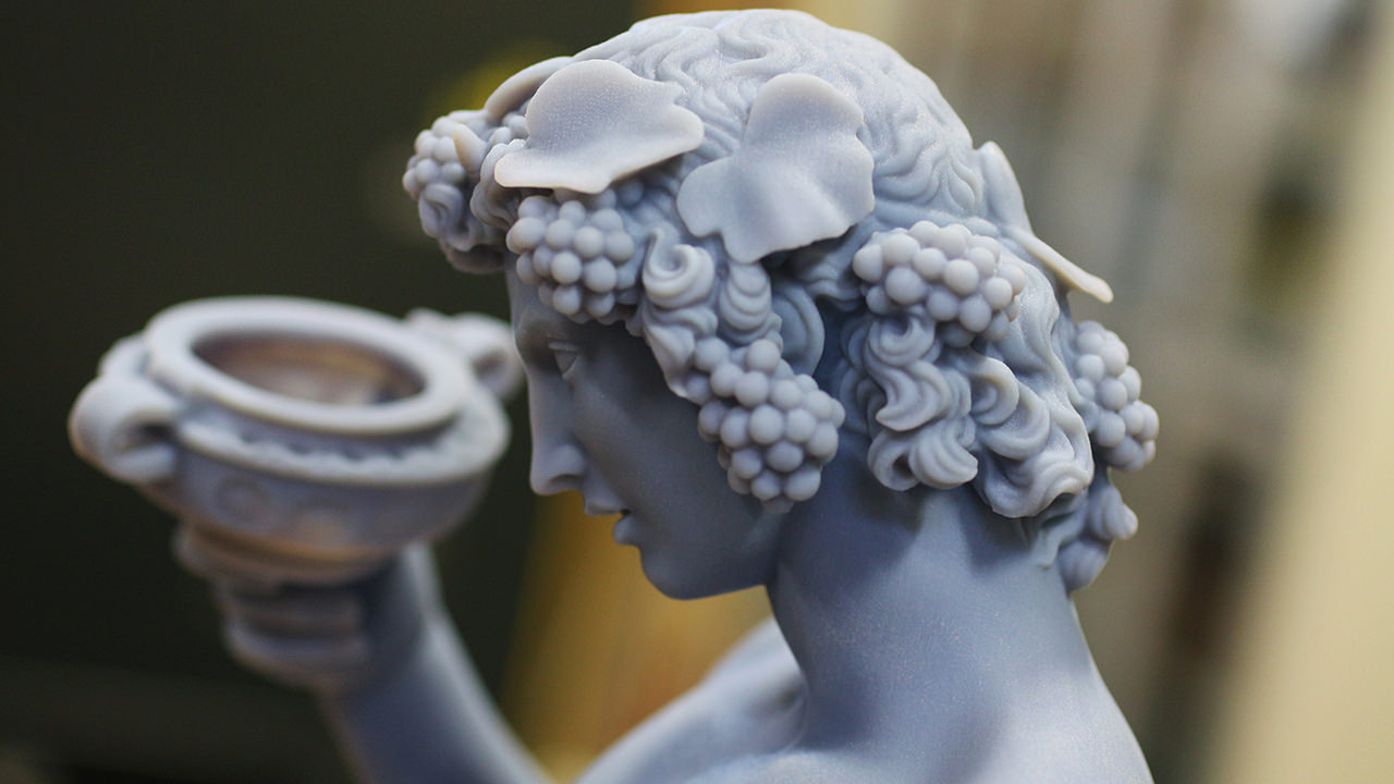 3D-print: Michelangelos Bacchus