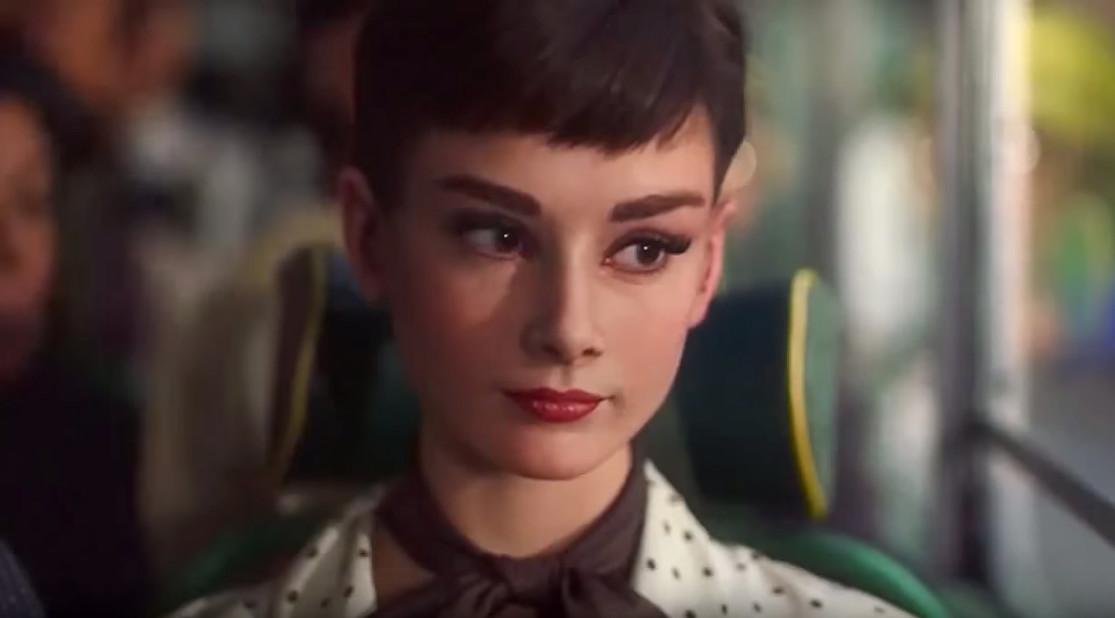 Gjenskapning av Audrey Hepburn i 3D