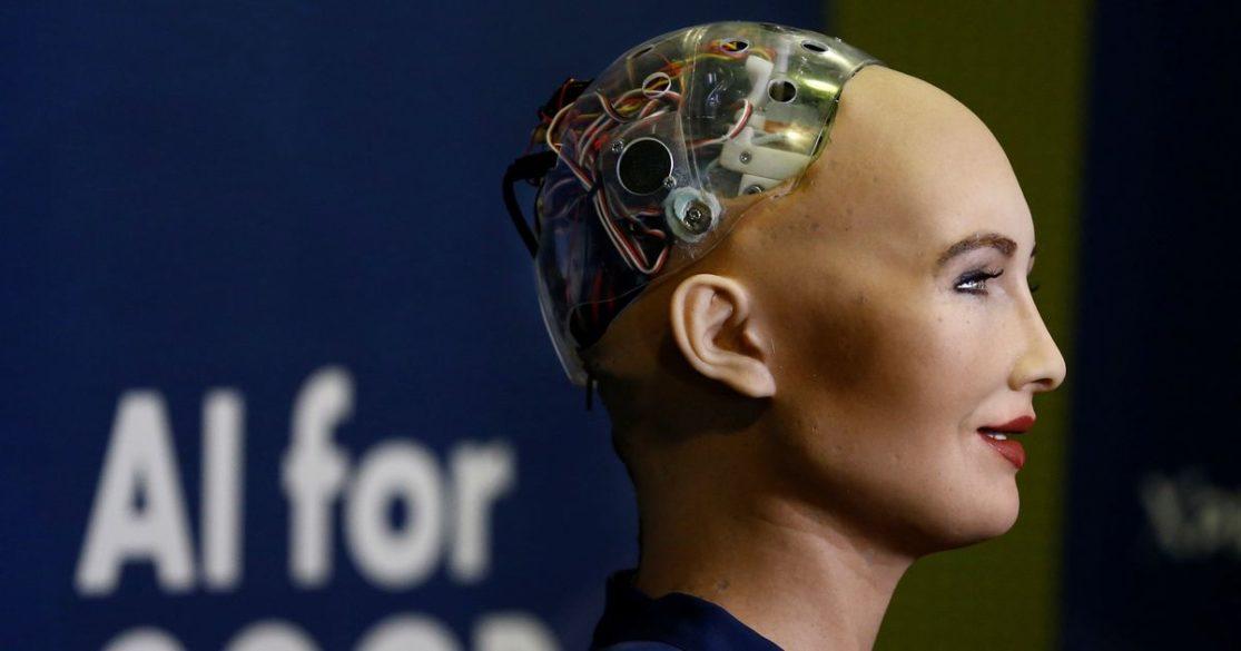 Sophia: en kunstellig intelligent robot